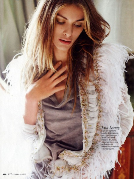 Elisa Sednaoui for <em>Elle Italia</em> February 2011 by Matt Jones
