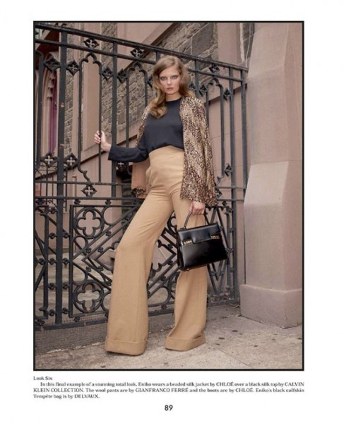 Eniko Mihalik by Terry Richardson for <em>The Gentlewoman</em> F/W 2010