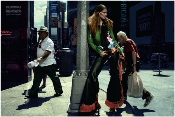 Eniko Mihalik by Francesco Carrozzini for <em>Vogue Italia</em>