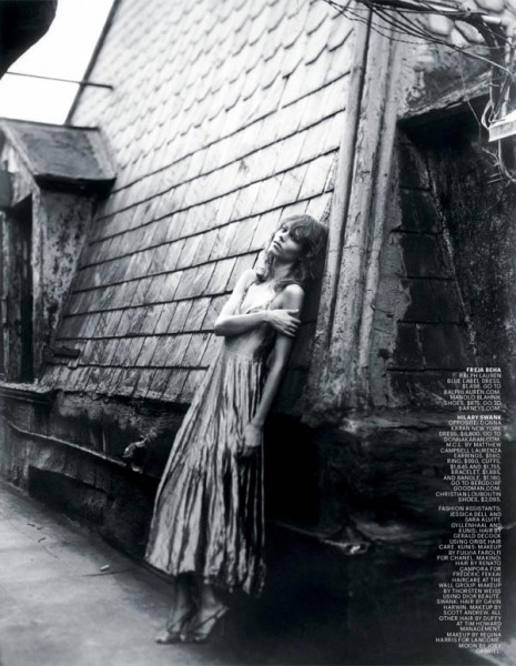 Snap! | Freja Beha Erichsen by Alice O&#8217;Malley for <em>T Magazine</em>