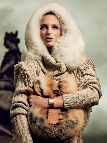 Georgina Stojiljkovic by Hunter &#038; Gatti for <em>Vogue Spain</em>