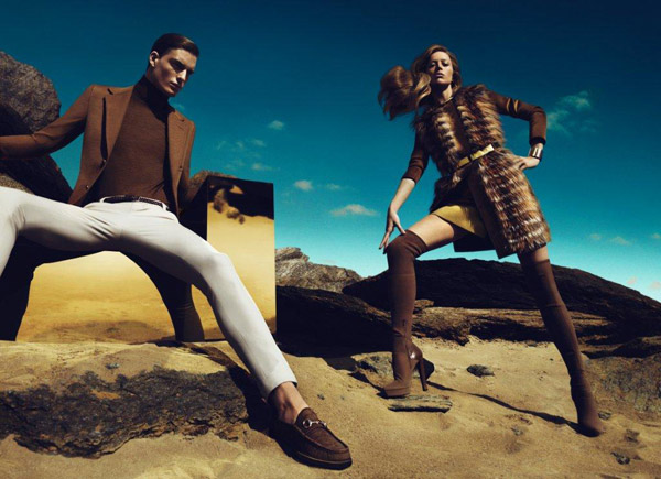 Gucci Fall 2010 Campaign Preview | Raquel Zimmermann by Mert & Marcus