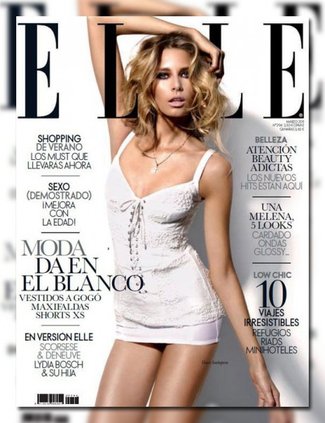 Hana Soukupova for <em>Elle Spain</em> March 2011
