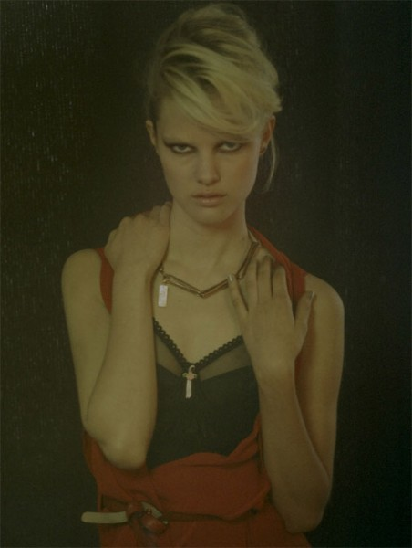 Hannah Holman by Peppe Tortora for <em>Grey</em> Fall 2010