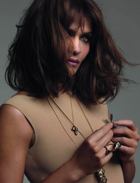 Helena Christensen by Tesh for <em>Elle UK</em> October 2010