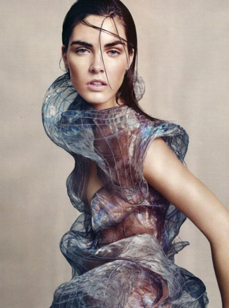 Hilary Rhoda by Paola Kudacki in Goddess Complex | <em>Harper&#8217;s Bazaar UK</em> July 2010