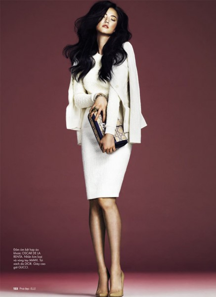 Jay Shin by Andrew Yee for <em>Elle Vietnam</em> February 2012