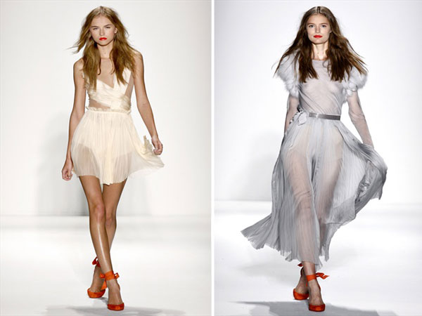 J. Mendel Spring 2011 | New York Fashion Week