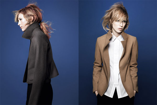 Jil Sander + Uniqlo Fall 2010 Campaign | Raquel Zimmermann by David Sims