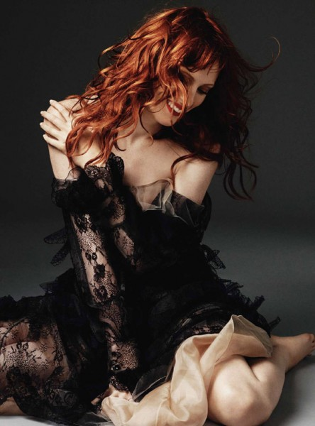 Karen Elson for <em>Harper&#8217;s Bazaar UK</em> October 2010 by Alexi Lubomirski