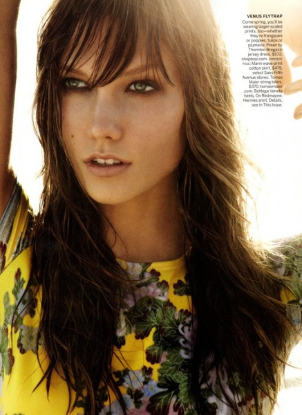 Karlie Kloss by Mario Testino for <em>Vogue US</em>