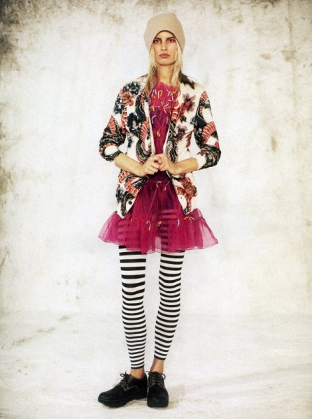 Karolina Kurkova by Chadwick Tyler for <em>Grey</em> S/S 2011