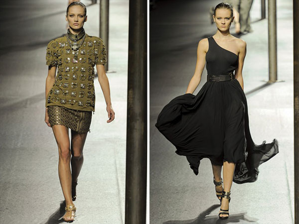 Lanvin Spring 2011 | Paris Fashion Week