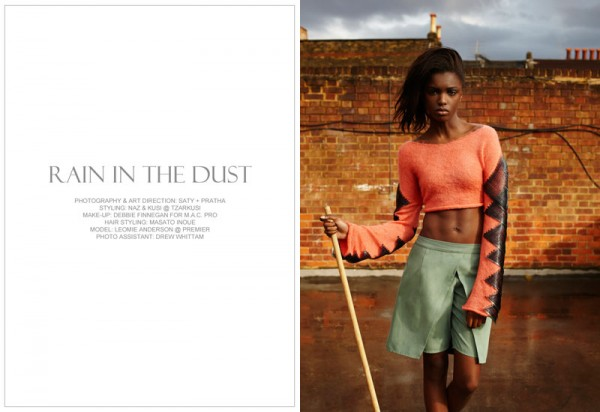 Leomie Anderson by Saty + Pratha for Fashion Gone Rogue