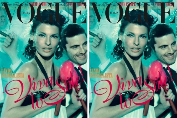 Vogue Italia May 2012 Cover | Linda Evangelista by Steven Meisel