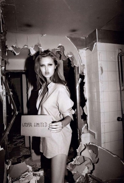 Lindsey Wixson for <em>Purple Fashion</em> F/W 2010 by Olivier Zahm