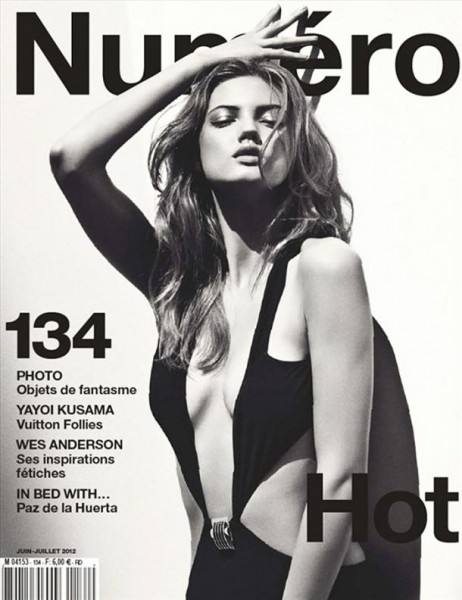 Lindsey Wixson is Hot in Gucci for Numéro's June/July 2012 Cover