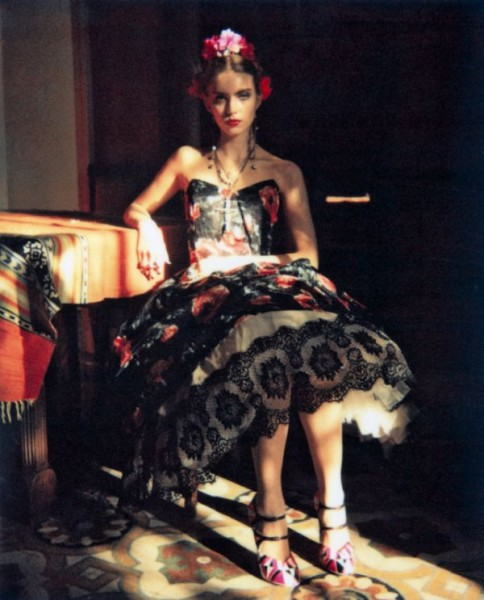 Emily Senko by Wendy Bevan for <em>Marie Claire Italia</em> March 2011