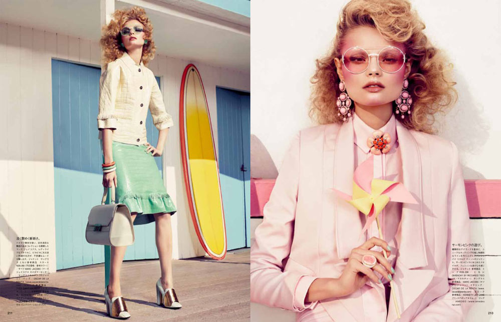 Magdalena Frackowiak by Sharif Hamza for <em>Vogue Japan</em> February 2012