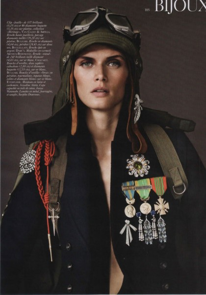Malgosia Bela by Josh Olins for <em>Vogue Paris</em> August 2010