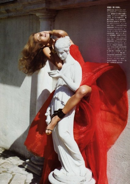 Malgosia Bela by Cédric Buchet for <em>Vogue Nippon</em> July 2010