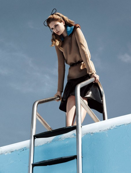 Mathilde Frachon by Lachlan Bailey for <em>Vogue Nippon</em> October 2010