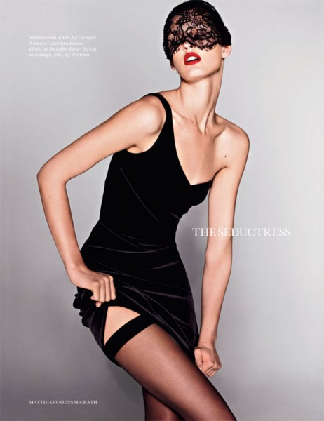 Ali Stephens by Matthias Vriens-McGrath for <em>Elle UK</em> August 2010