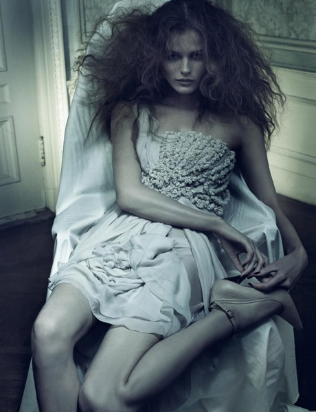 Morning Beauty | Edita Vilkeviciute & Anna Maria Jagodzinska by Craig McDean