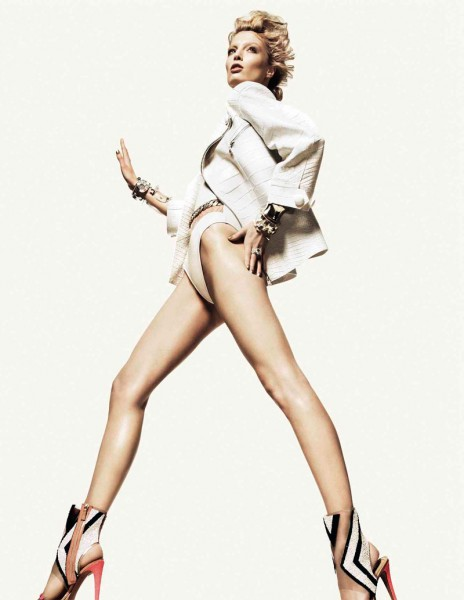 Melissa Tammerijn by Jason Kibbler for Vogue Russia May 2012