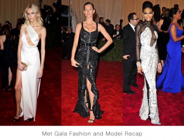 Gisele Bundchen, Linda Evangelista, Karlie Kloss, Chanel Iman & More at the 2012 Met Gala