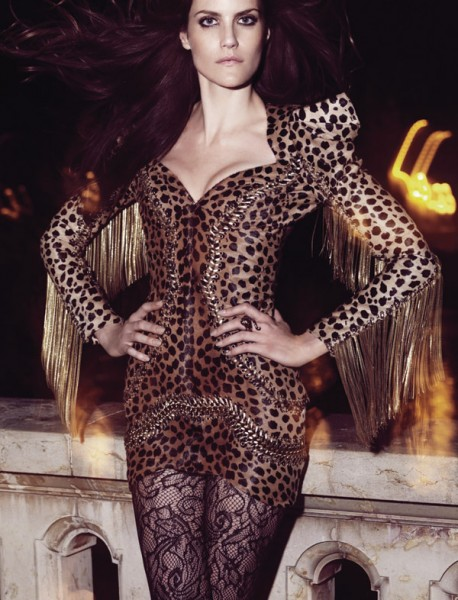 Missy Rayder for <em>Harper&#8217;s Bazaar Spain</em> November 2010 by Nico
