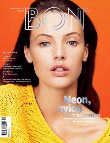 <em>Bon</em> Winter 2010 Cover | Mona Johannesson by Hasse Nielsen