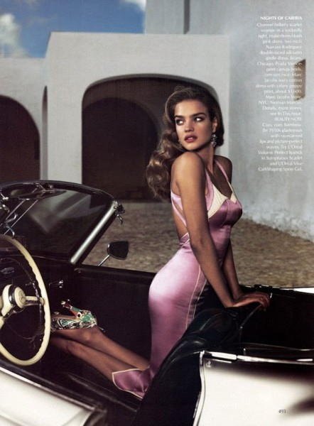 Morning Beauty | Natalia Vodianova by Mert & Marcus