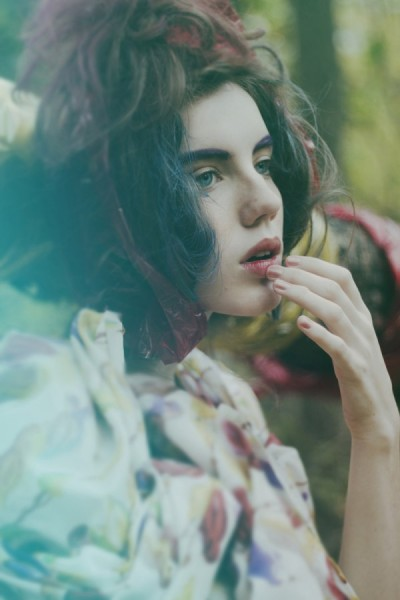 Natalie Gempel by Lauren Withrow in Watercolor Dreams