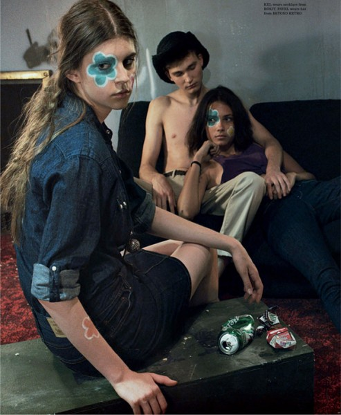 The Outsiders by Sharif Hamza for <em>Dazed &#038; Confused</em> September 2010