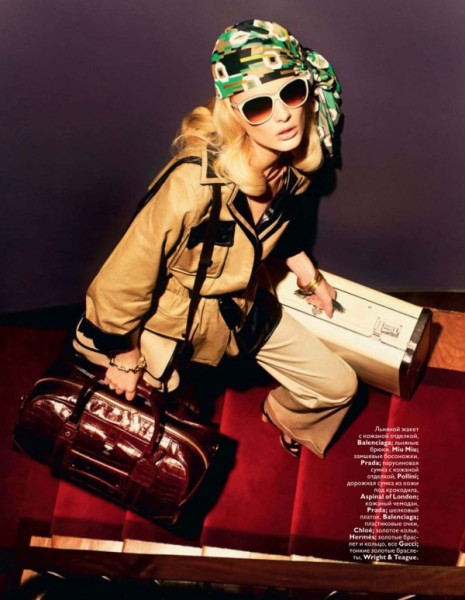 Patricia van der Vliet for <em>Vogue Russia</em> January 2011 by Mariano Vivanco