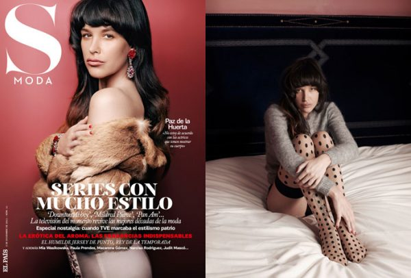 Paz de la Huerta by Eric Guillemain for <em>S Moda</em> December 2011