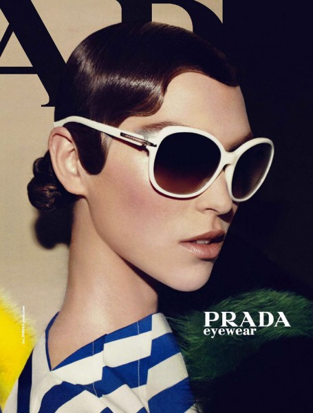 Prada Spring 2011 Campaign Preview | Arizona Muse by Steven Meisel