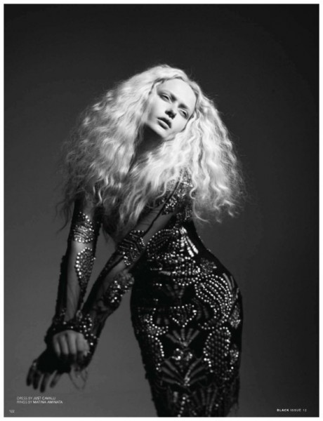 Annabella Barber by Rupert Tapper for <em>Black</em> #12