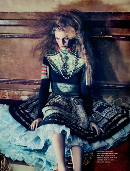 Samantha Gradoville by Sebastian Kim for <em>Numéro</em> #118