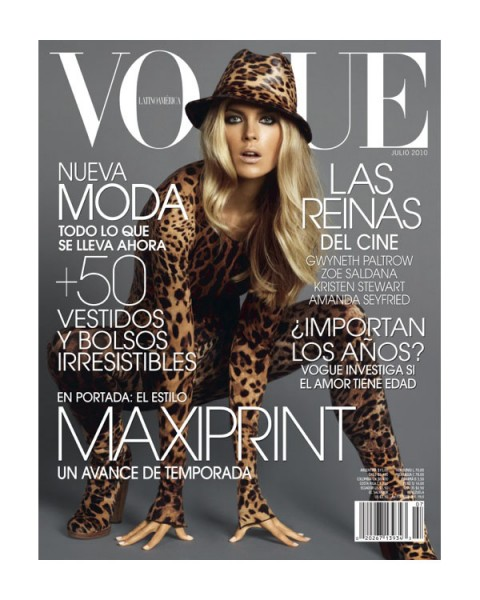 <em>Vogue Latin America</em> July 2010 Cover | Shannan Click by David Roemer