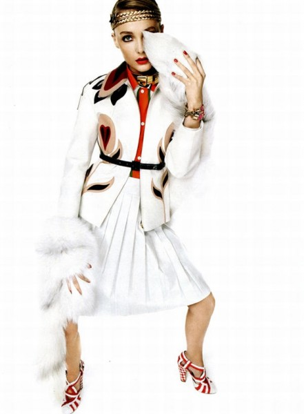 Snejana Onopka by Giampaolo Sgura for <em>Vogue Nippon</em> February 2011