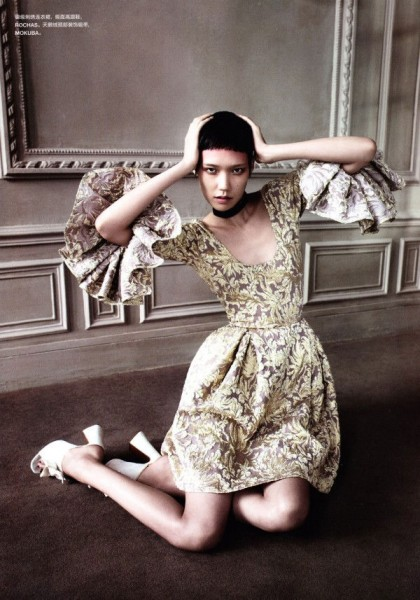 Tao Okamoto by John-Paul Pietrus for <em>Numéro China</em> December 2010
