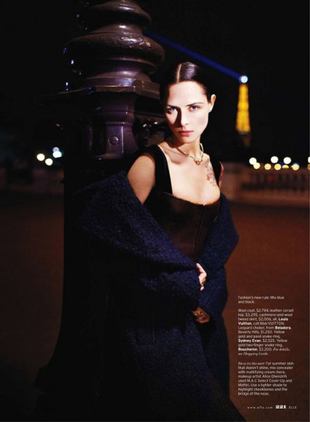 Tasha Tilberg by Kacper Kasprzyk for <em>Elle US</em> August 2010
