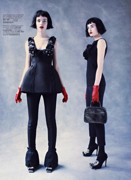 Gwen Loos &#038; Pauline van der Cruysse for <em>Vogue Turkey</em> November 2010 by Mariano Vivanco