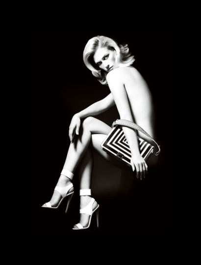 Versace Accessories Spring 2011 Campaign Preview | January Jones by Mario Testino