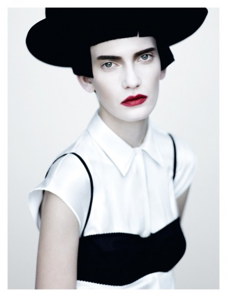Valerija Kelava by Paolo Roversi for <em>Vogue Italia</em> February 2011