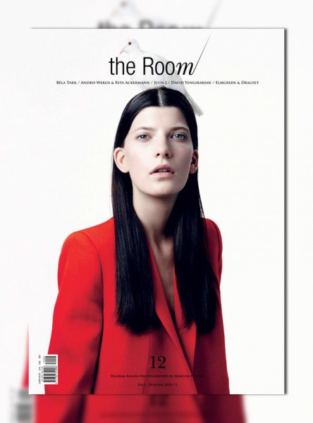 <em>The Room</em> #12 F/W 2010 Cover | Valerija Kelava by Marton Perlaki