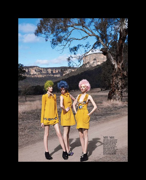 Valley of the Dolls by Simon Upton for <em>Harper&#8217;s Bazaar Singapore</em> September 2010