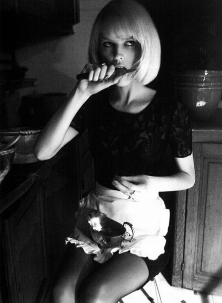 Eva Herzigova by Glen Luchford for <em>Vogue Italia</em> June 2010